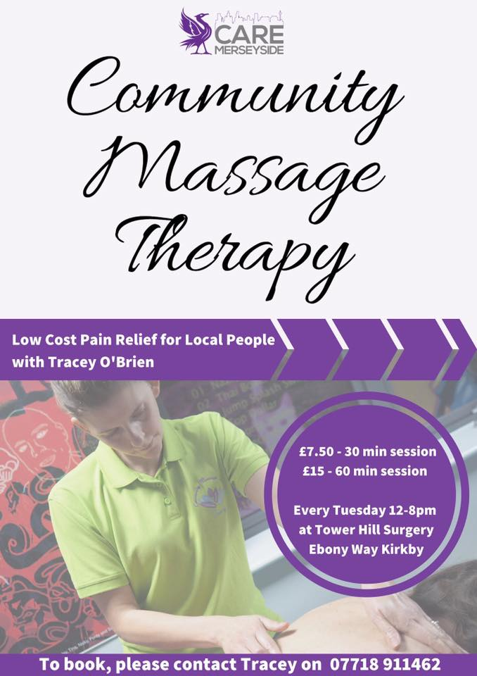 cheap massage sports massage kirkby