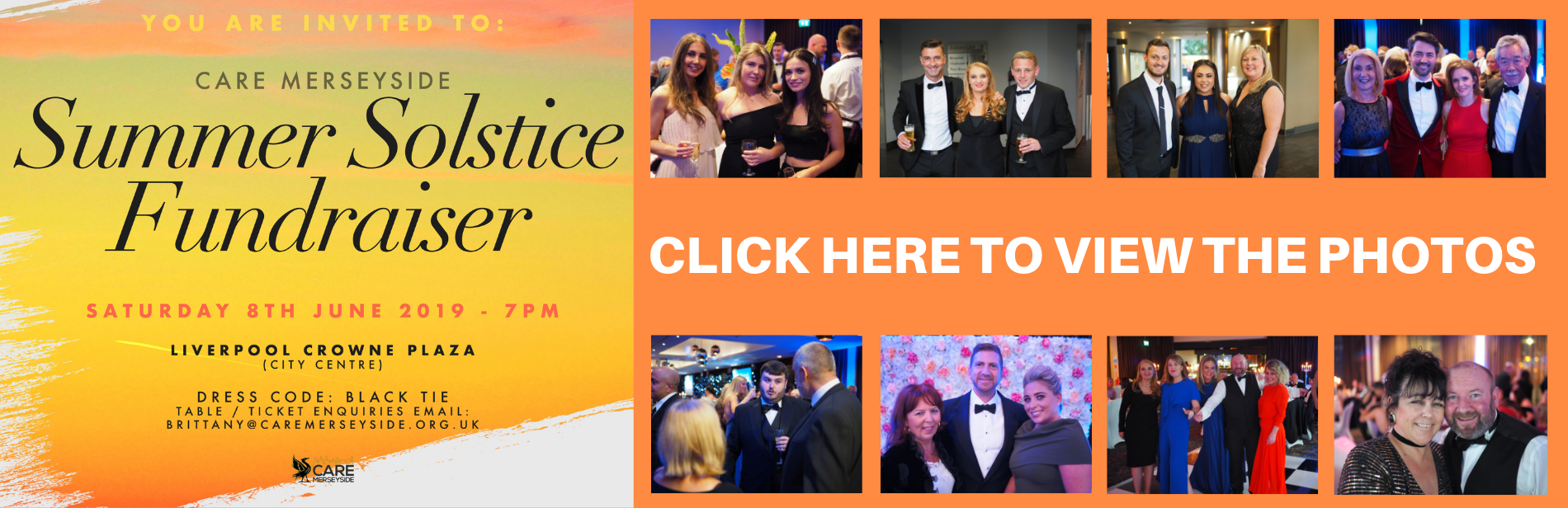 Care Merseyside summer solstice charity ball June 2019