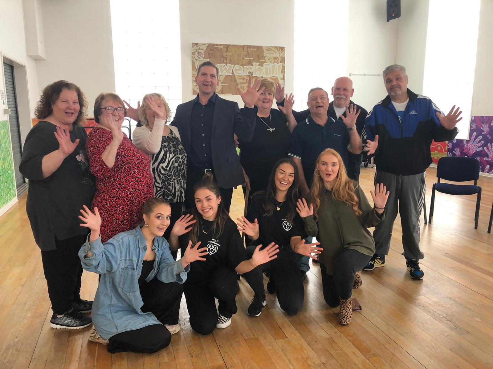 Malit in the Community and Ugly Bucket with Care Merseyside drama class